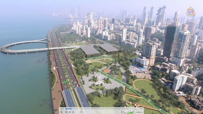 TMS for coastal road in Mumbai