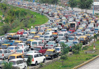 Traffic Management System for Mumbai