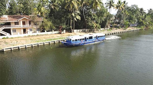 Water Metro project in Kochi