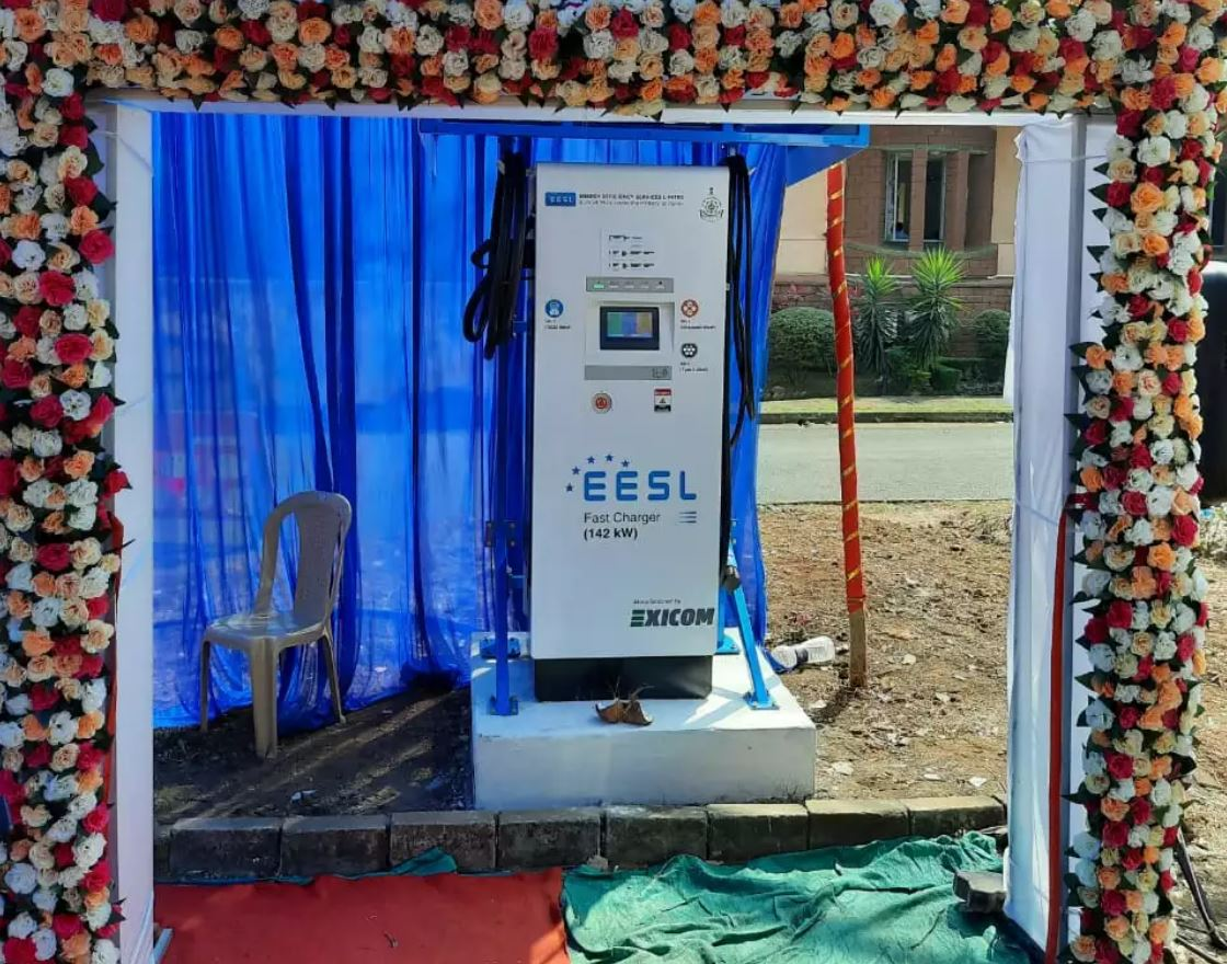 Goa CM inaugurates first public EV charging station set up by CESL